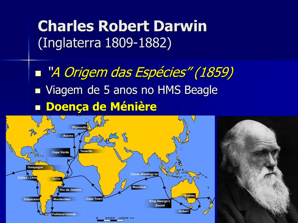 Charles Robert Darwin (Inglaterra 1809-1882)