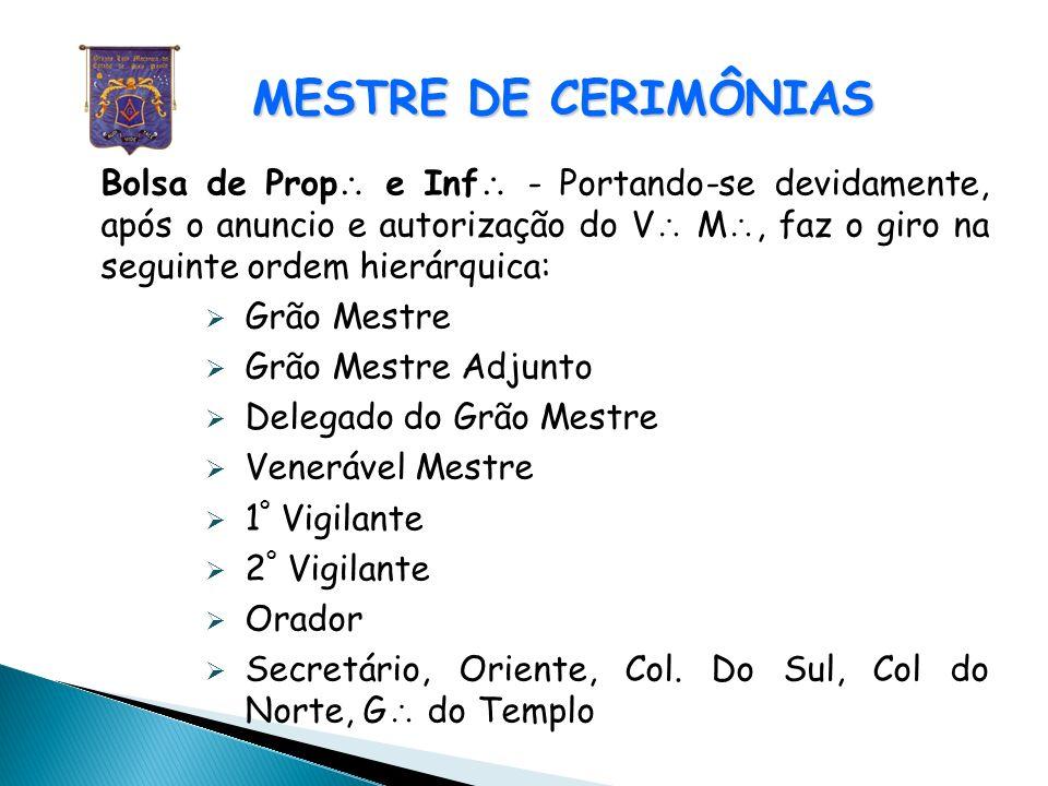 MESTRE DE CERIMÔNIAS