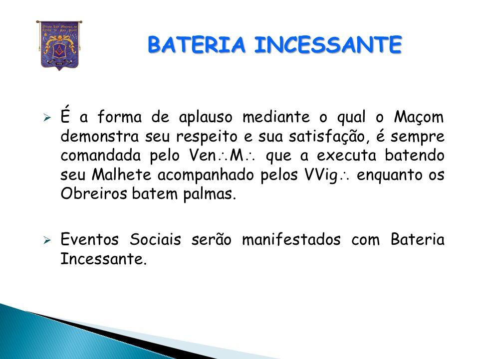 BATERIA INCESSANTE
