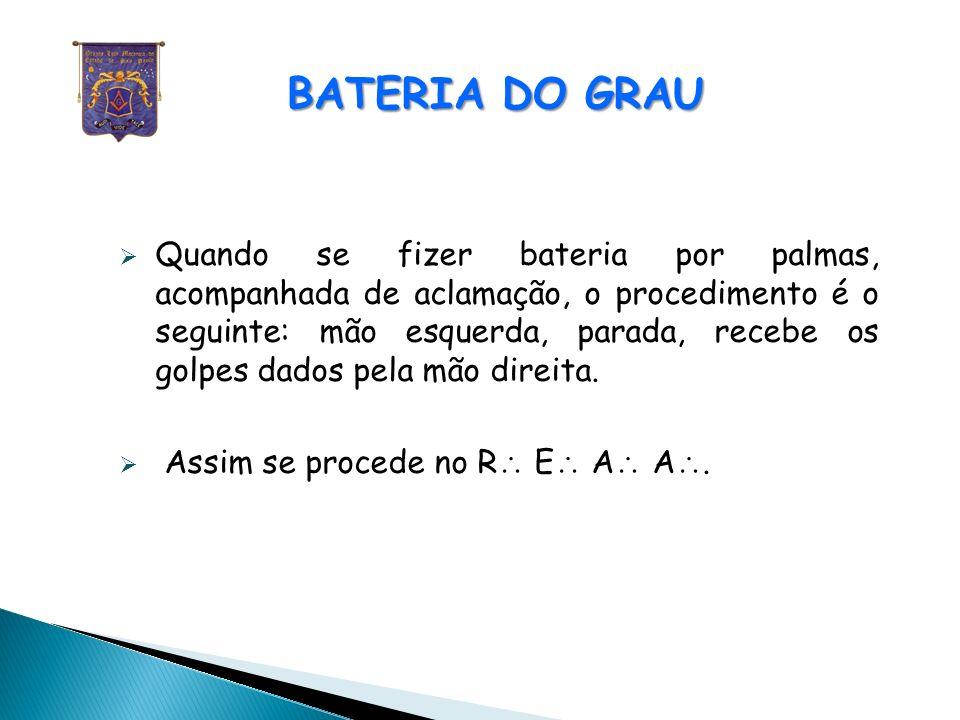 BATERIA DO GRAU