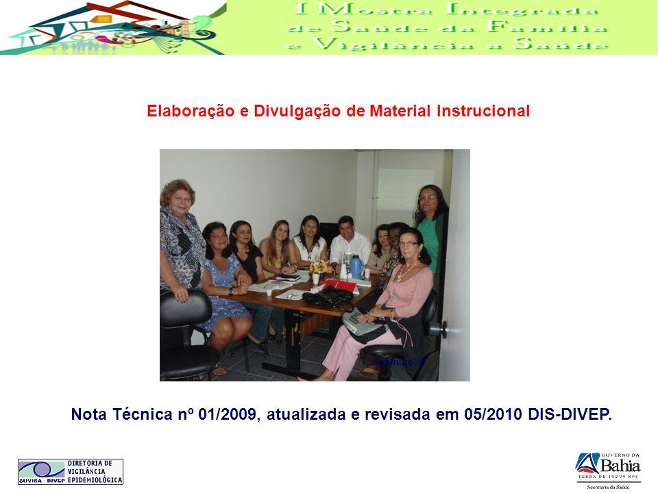 Elaboração e Divulgação de Material Instrucional