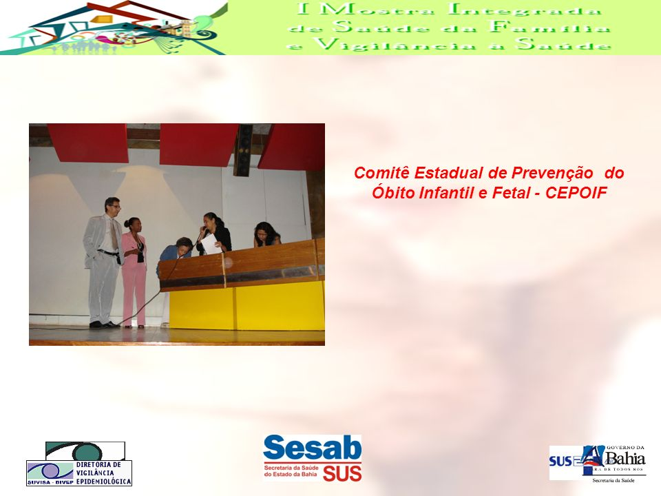 Comitê Estadual de Prevenção do Óbito Infantil e Fetal - CEPOIF