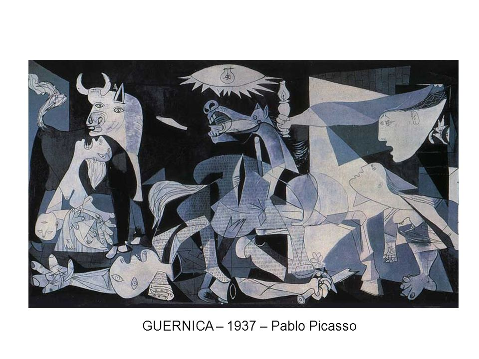 GUERNICA – 1937 – Pablo Picasso