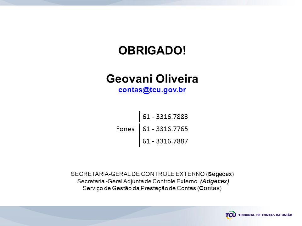 Serviço de Gestão da Prestação de Contas (Contas)