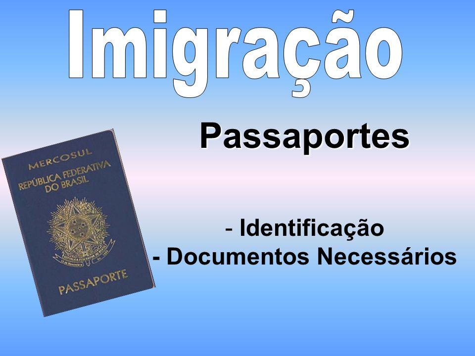 Identificação - Documentos Necessários