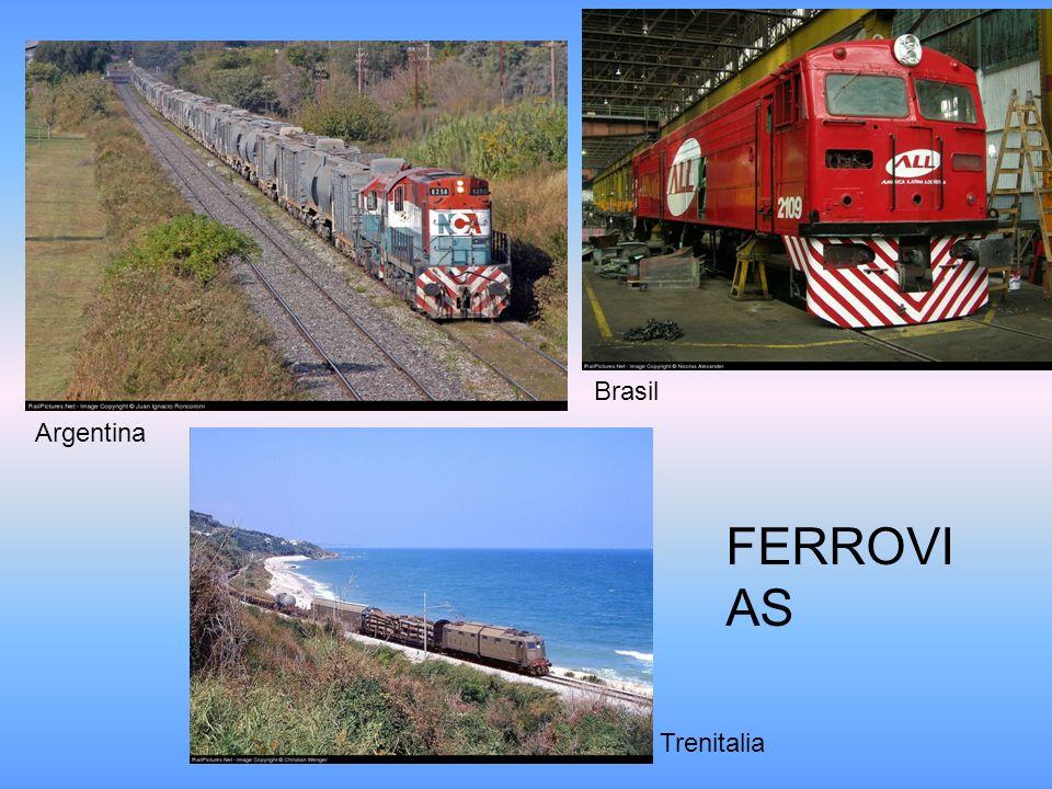 Brasil Argentina FERROVIAS Trenitalia