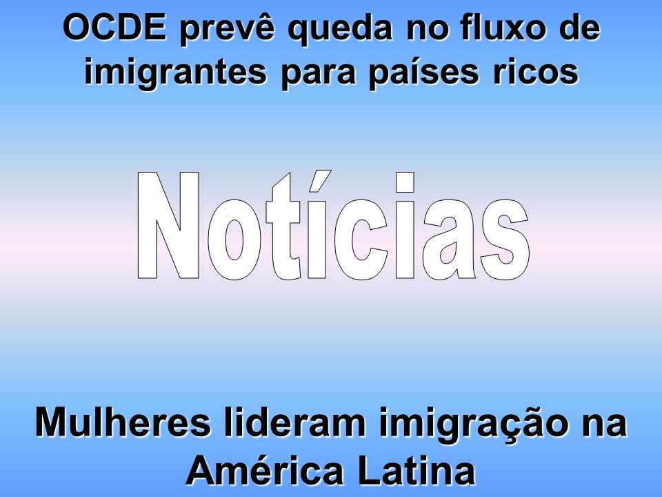OCDE prevê queda no fluxo de imigrantes para países ricos