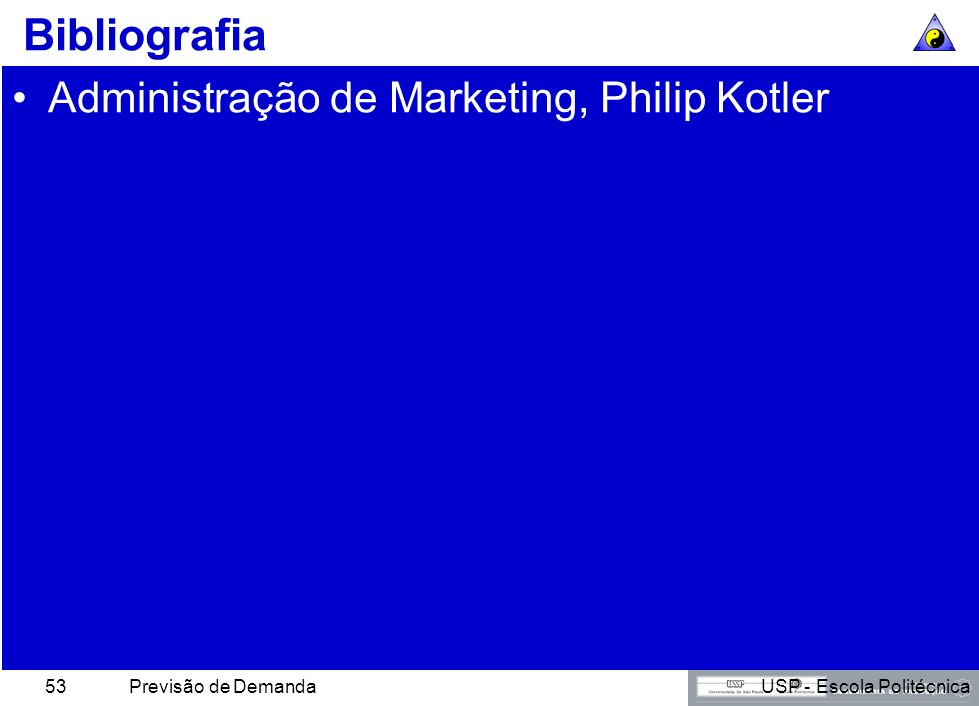 Bibliografia Administração de Marketing, Philip Kotler