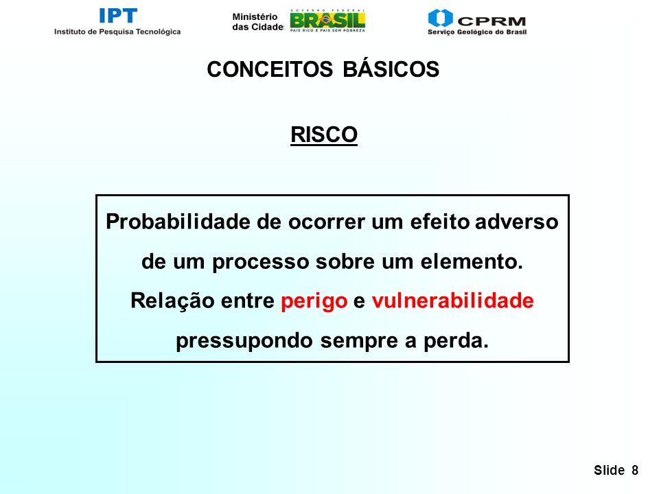 CONCEITOS BÁSICOS RISCO.