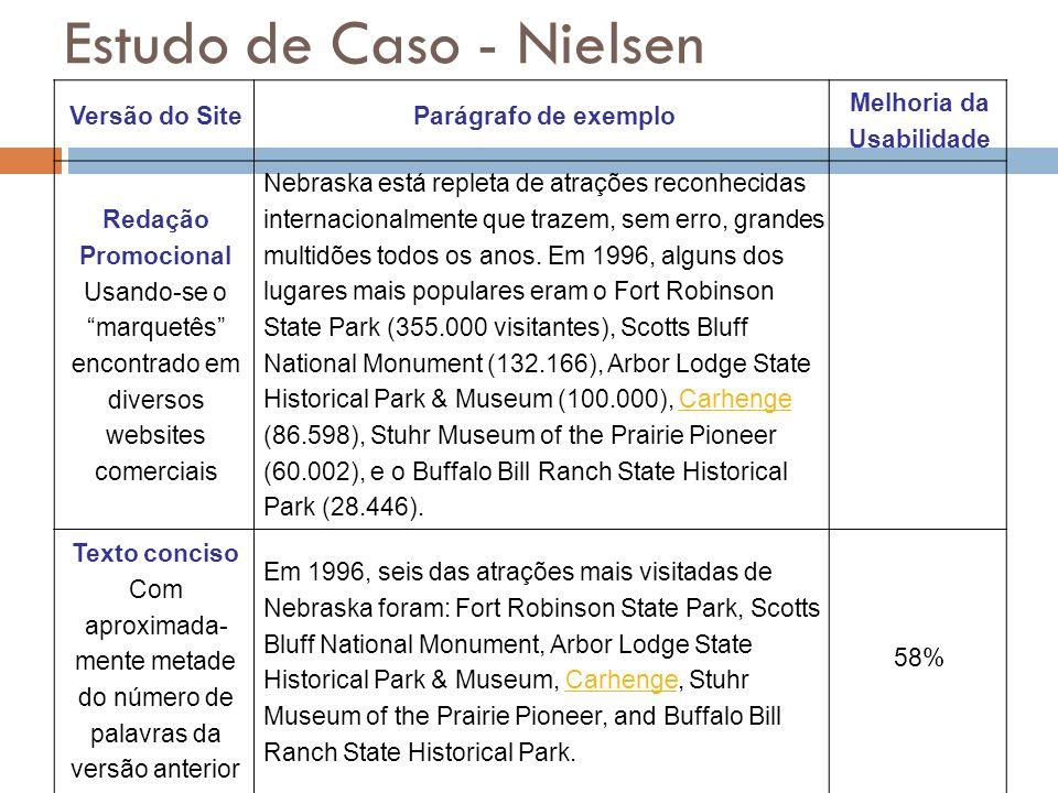 Estudo de Caso - Nielsen