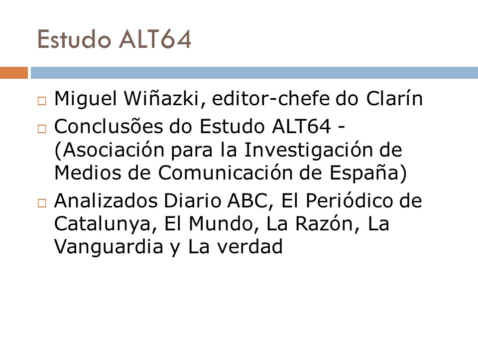 Estudo ALT64 Miguel Wiñazki, editor-chefe do Clarín