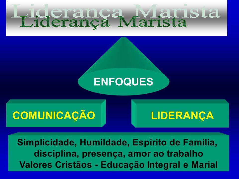 Liderança Marista ENFOQUES COMUNICAÇÃO LIDERANÇA