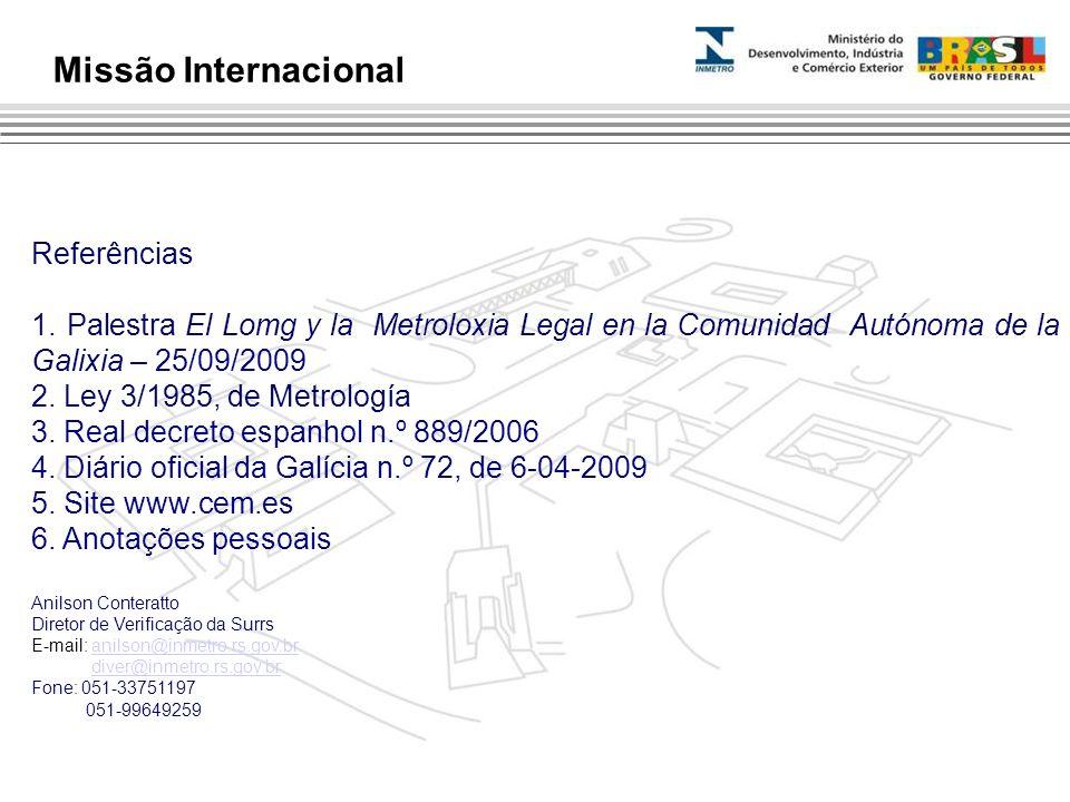 Missão Internacional Referências