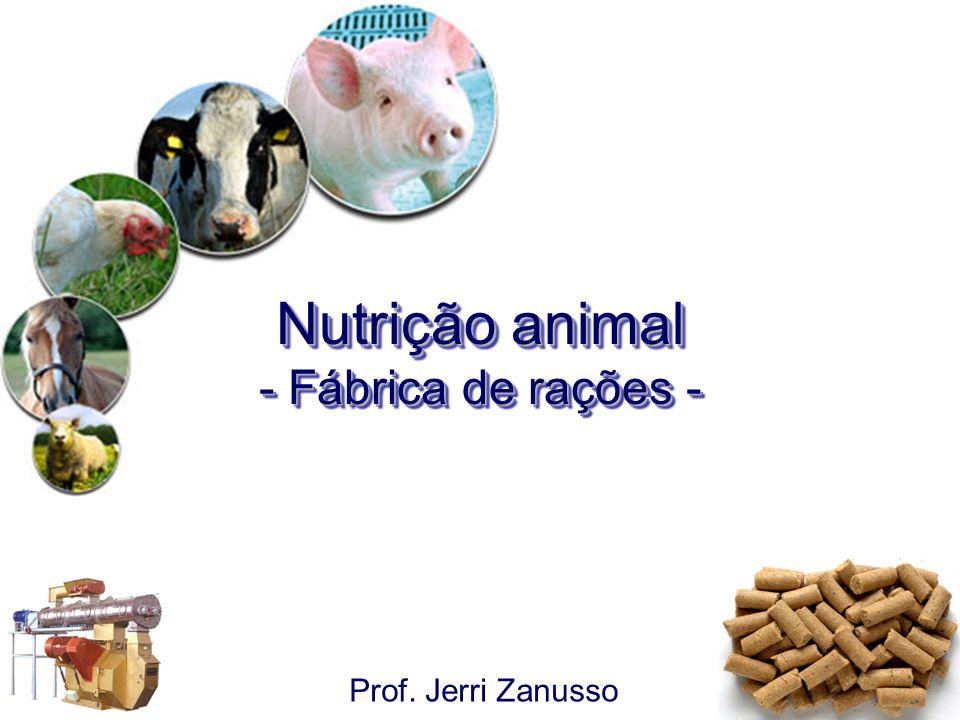 Nutrição animal - Fábrica de rações -