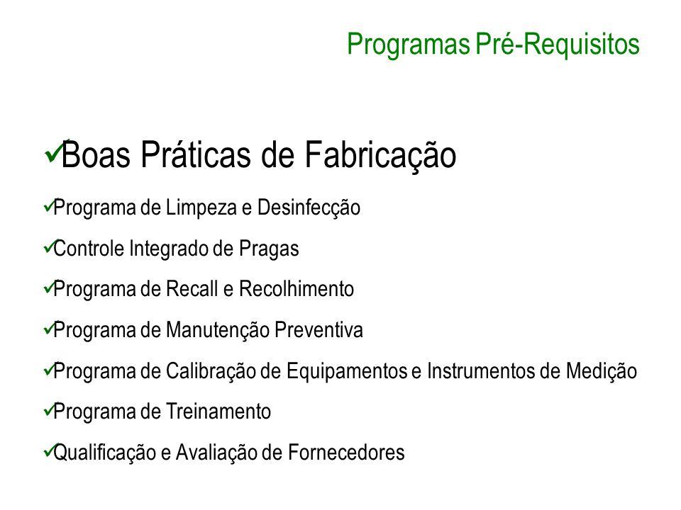 Programas Pré-Requisitos