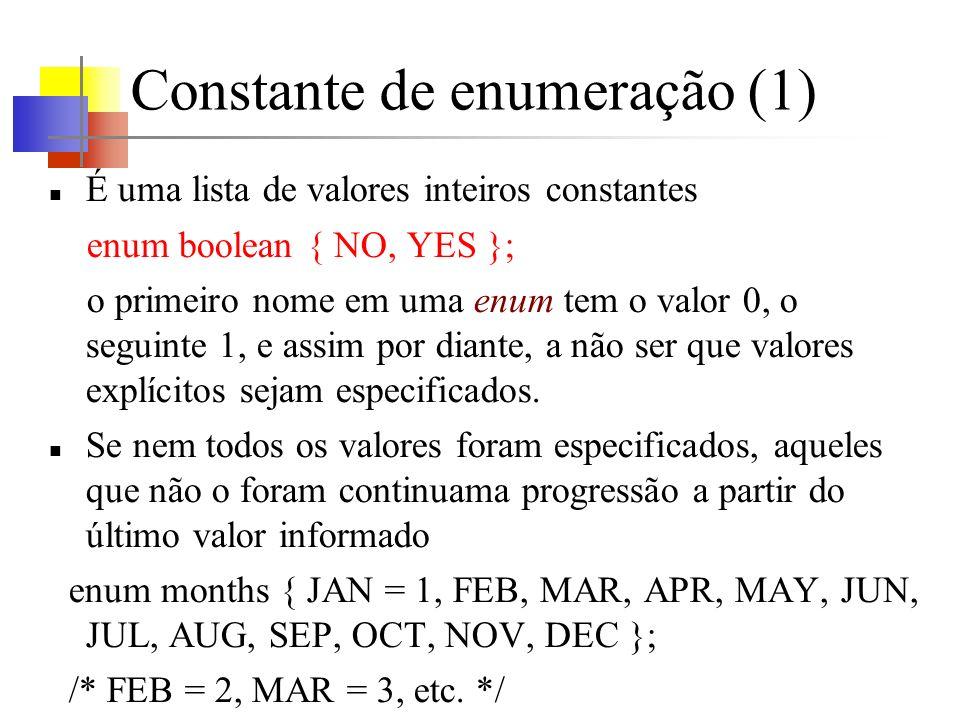 Constante de enumeração (1)