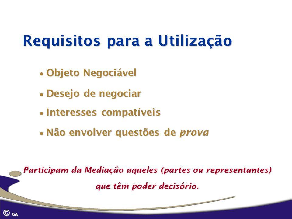 Requisitos para a Utilização