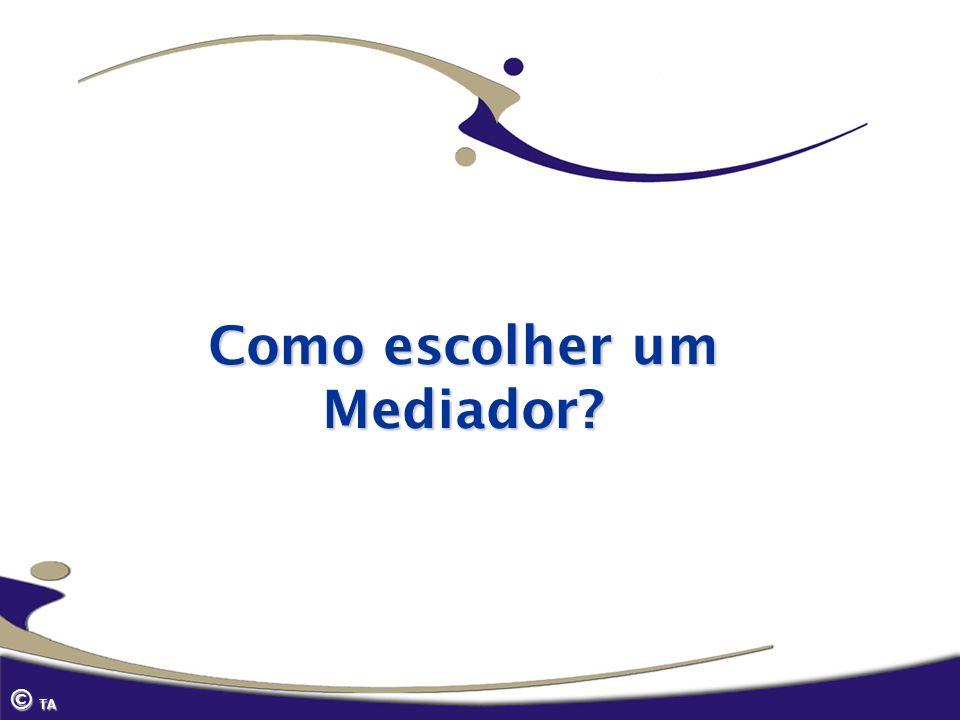 Como escolher um Mediador