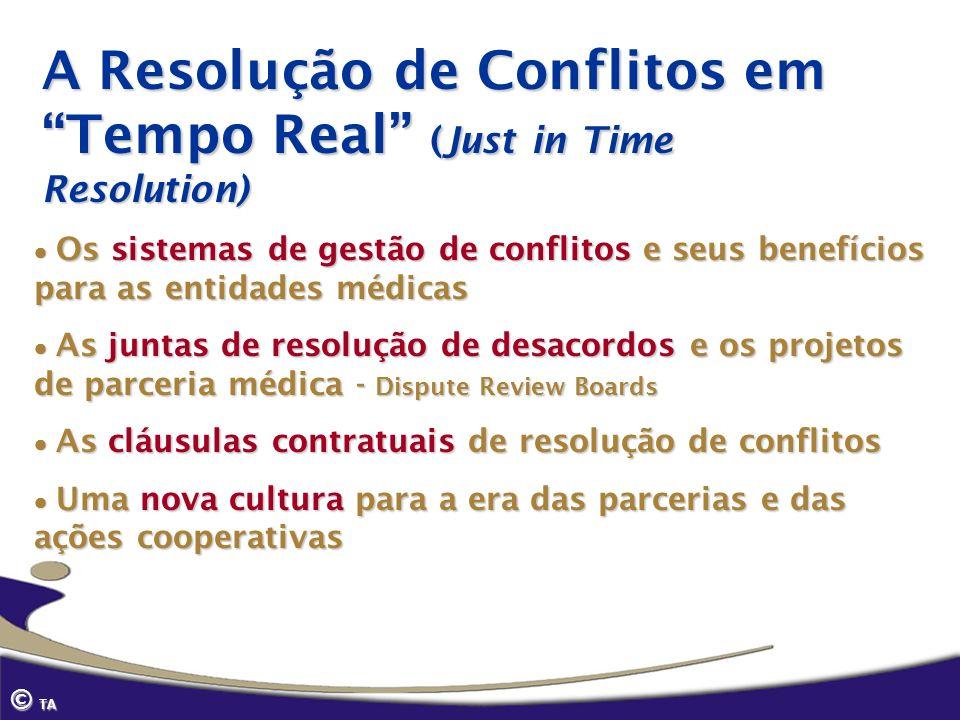 A Resolução de Conflitos em Tempo Real (Just in Time Resolution)
