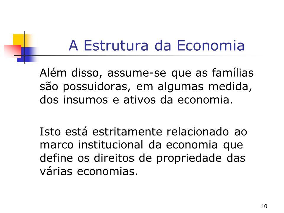A Estrutura da Economia
