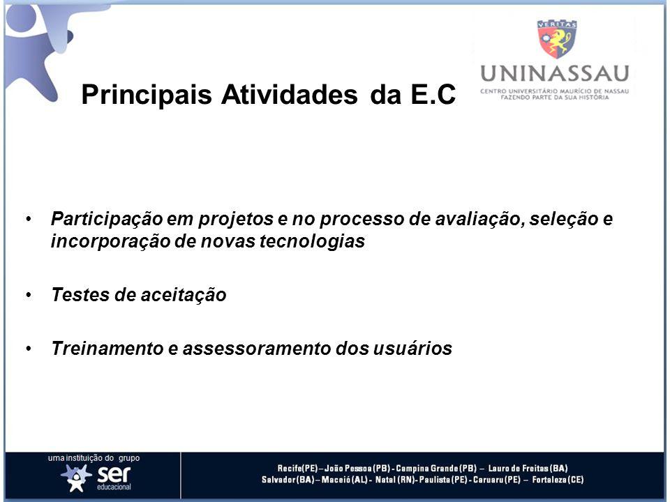 Principais Atividades da E.C