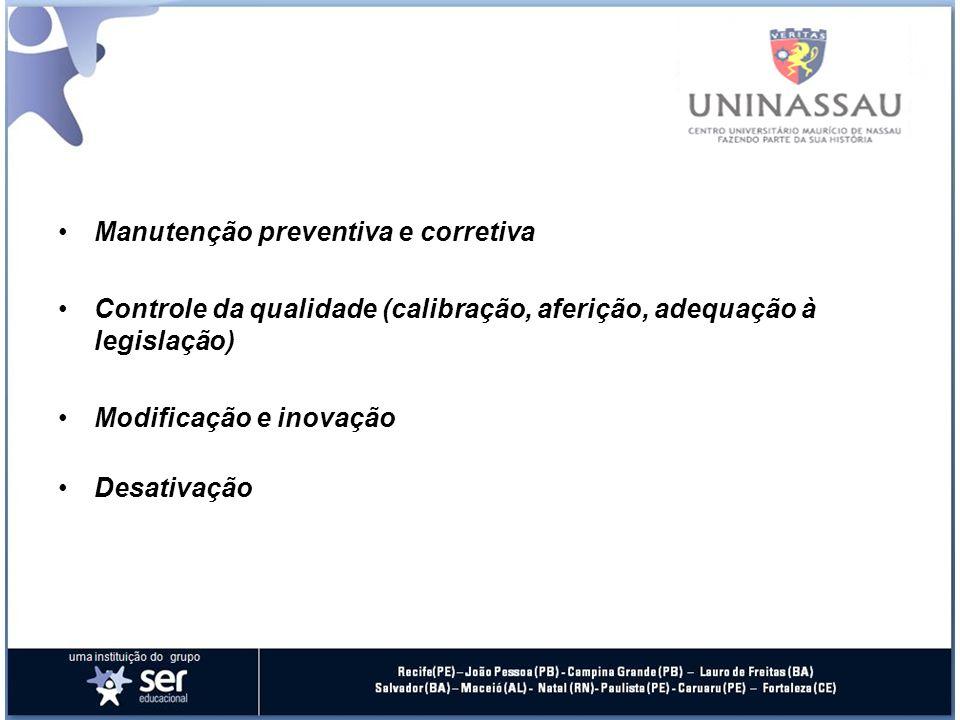 Manutenção preventiva e corretiva