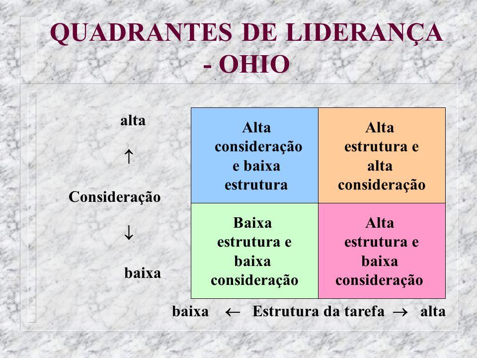 QUADRANTES DE LIDERANÇA - OHIO