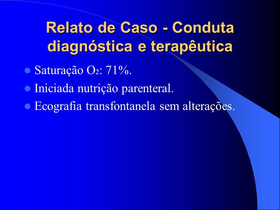 Relato de Caso - Conduta diagnóstica e terapêutica