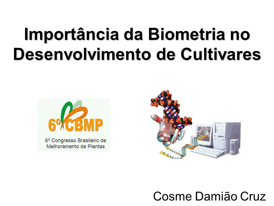 Importância da Biometria no Desenvolvimento de Cultivares