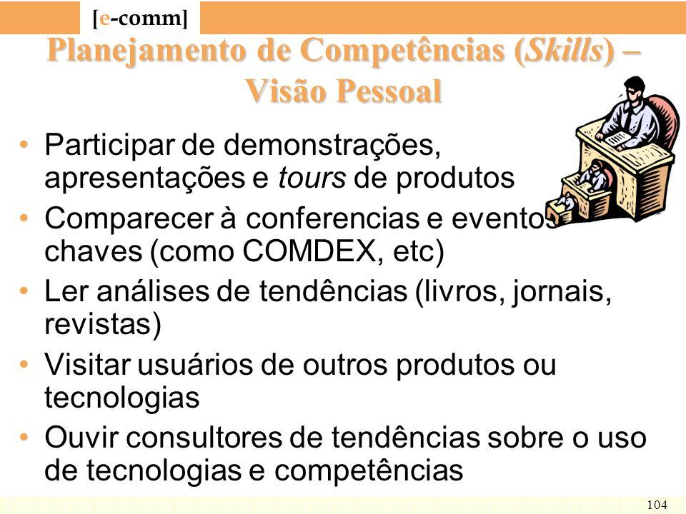 Planejamento de Competências (Skills) – Visão Pessoal