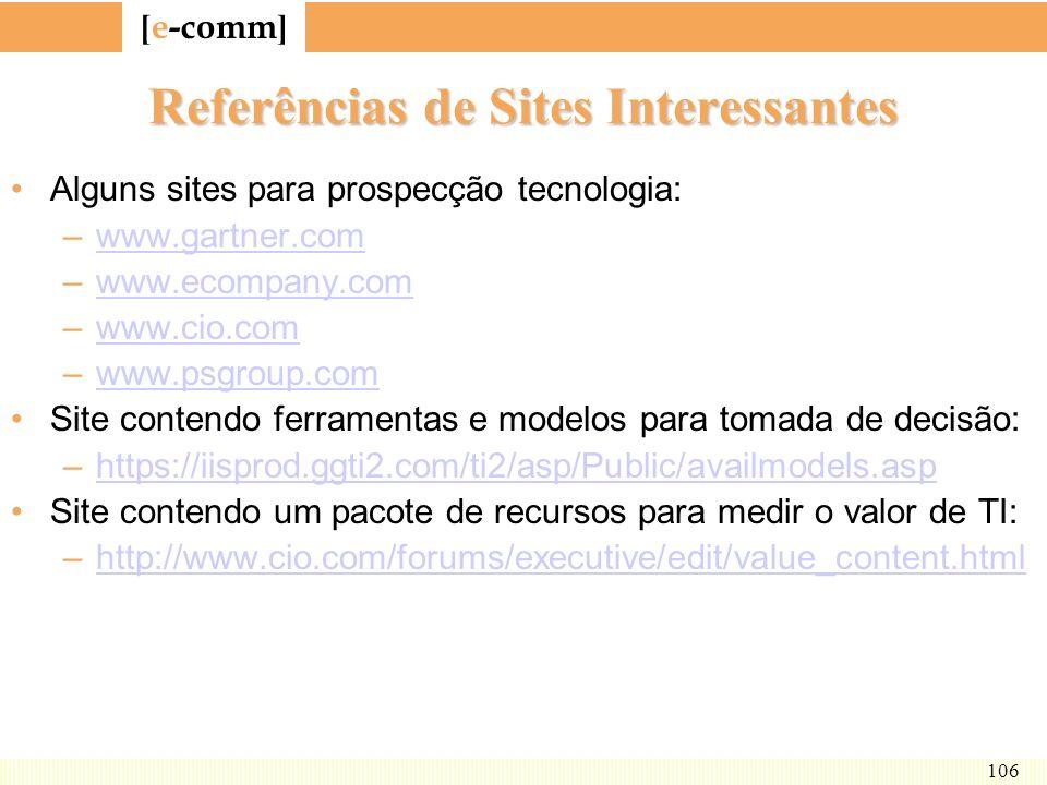 Referências de Sites Interessantes