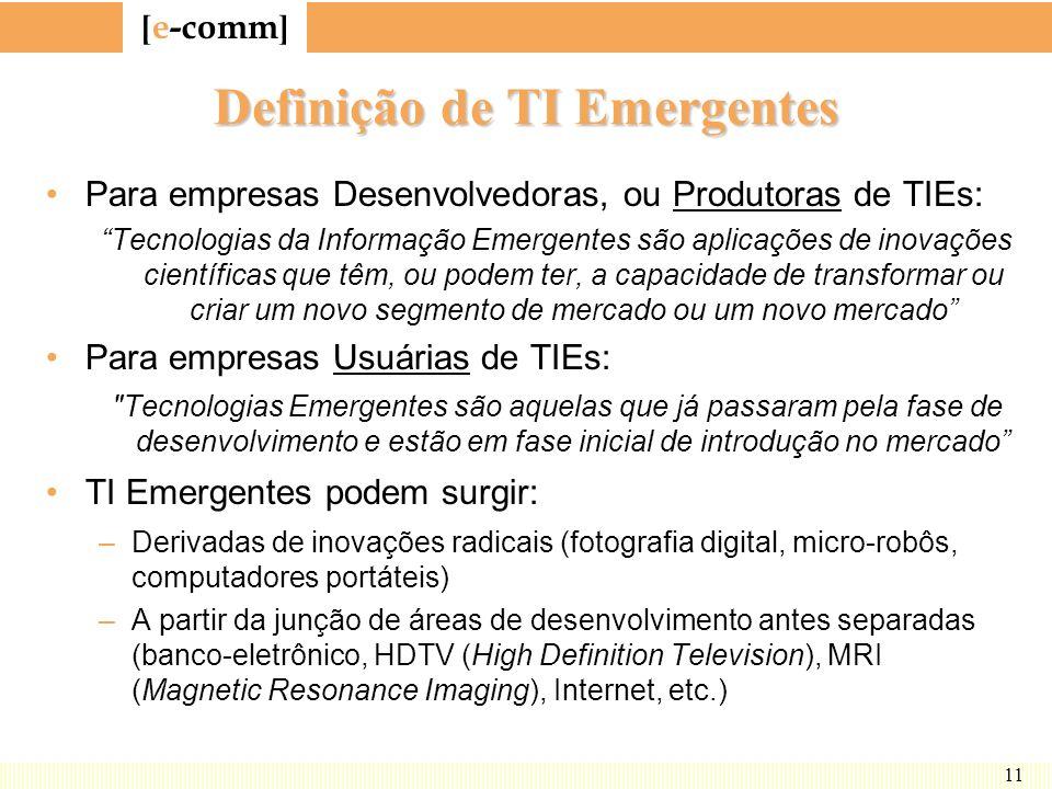 Definição de TI Emergentes