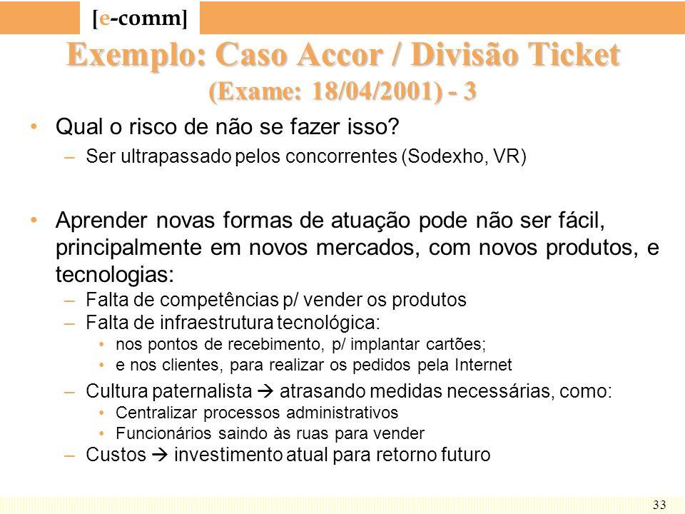 Exemplo: Caso Accor / Divisão Ticket (Exame: 18/04/2001) - 3