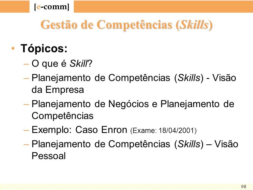Gestão de Competências (Skills)