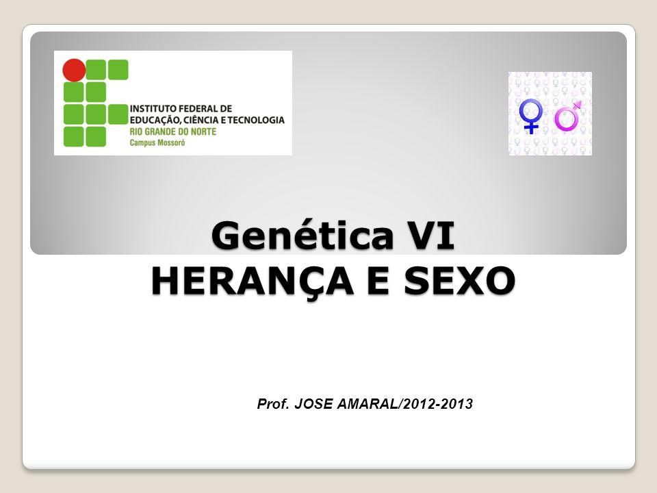 Genética VI HERANÇA E SEXO