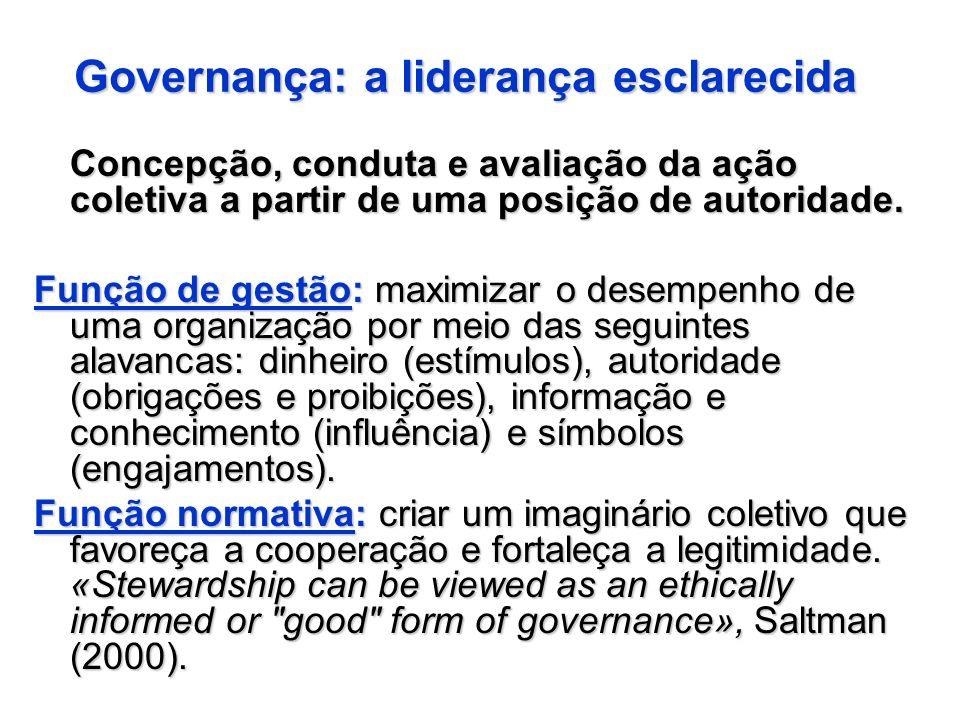 Governança: a liderança esclarecida