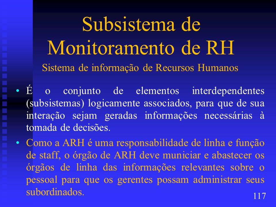 Subsistema de Monitoramento de RH