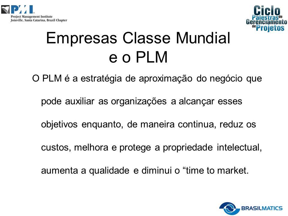 Empresas Classe Mundial e o PLM