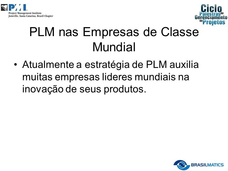 PLM nas Empresas de Classe Mundial