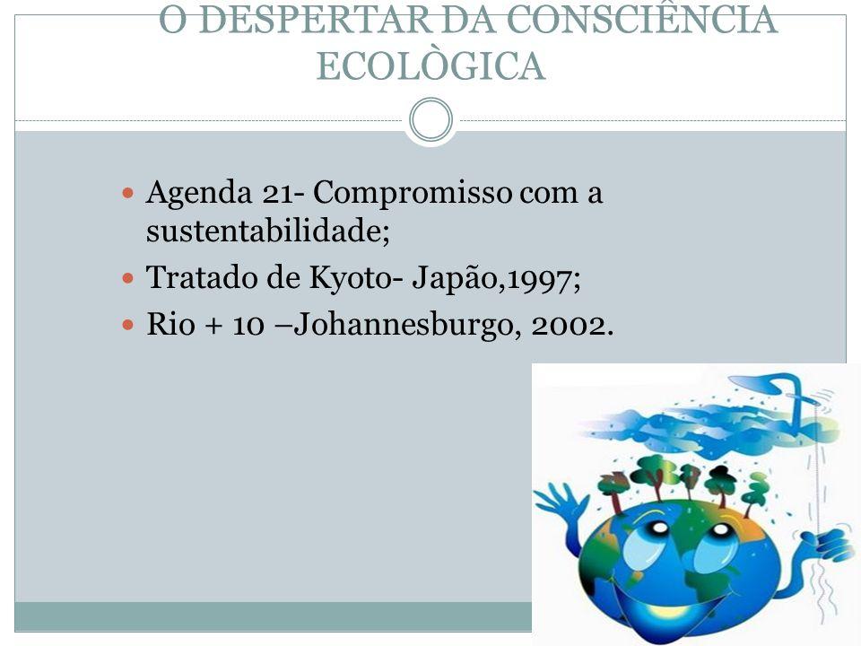 O DESPERTAR DA CONSCIÊNCIA ECOLÒGICA
