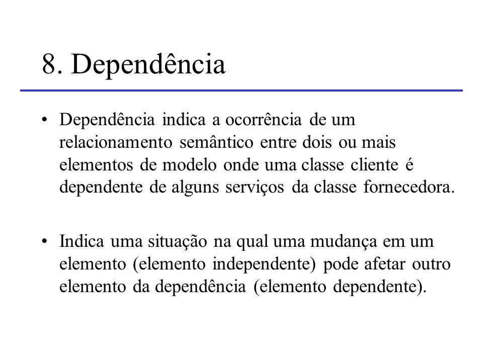 8. Dependência