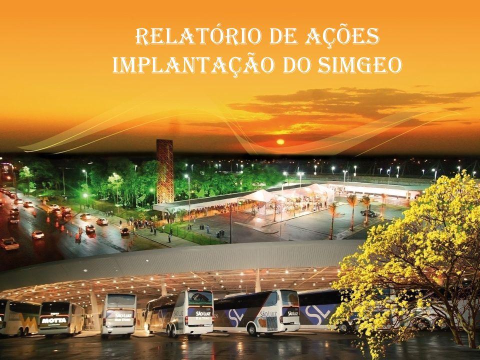RELATÓRIO DE AÇÕES IMPLANTAÇÃO DO SIMGEO