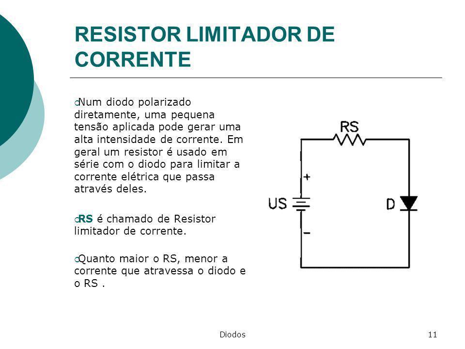 RESISTOR LIMITADOR DE CORRENTE