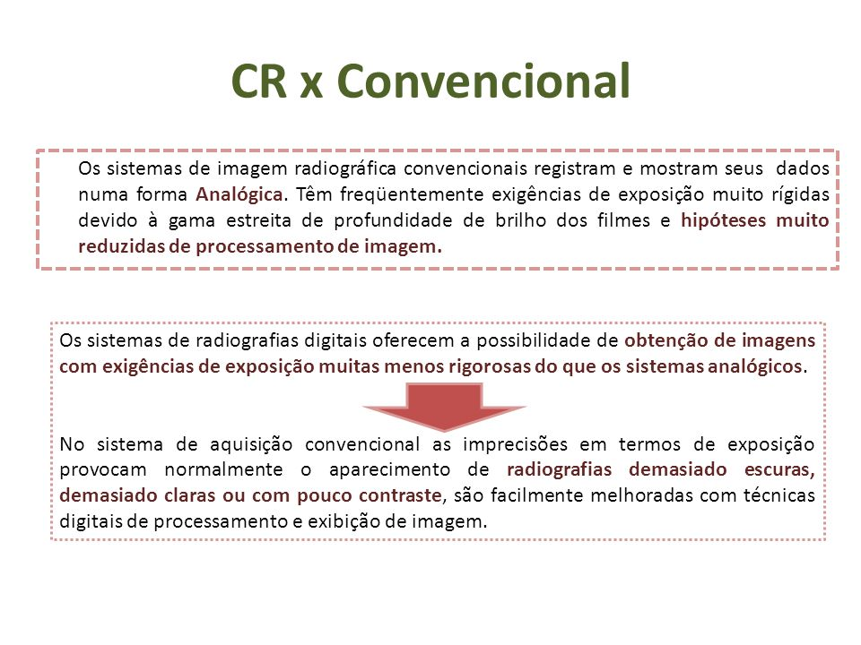 CR x Convencional