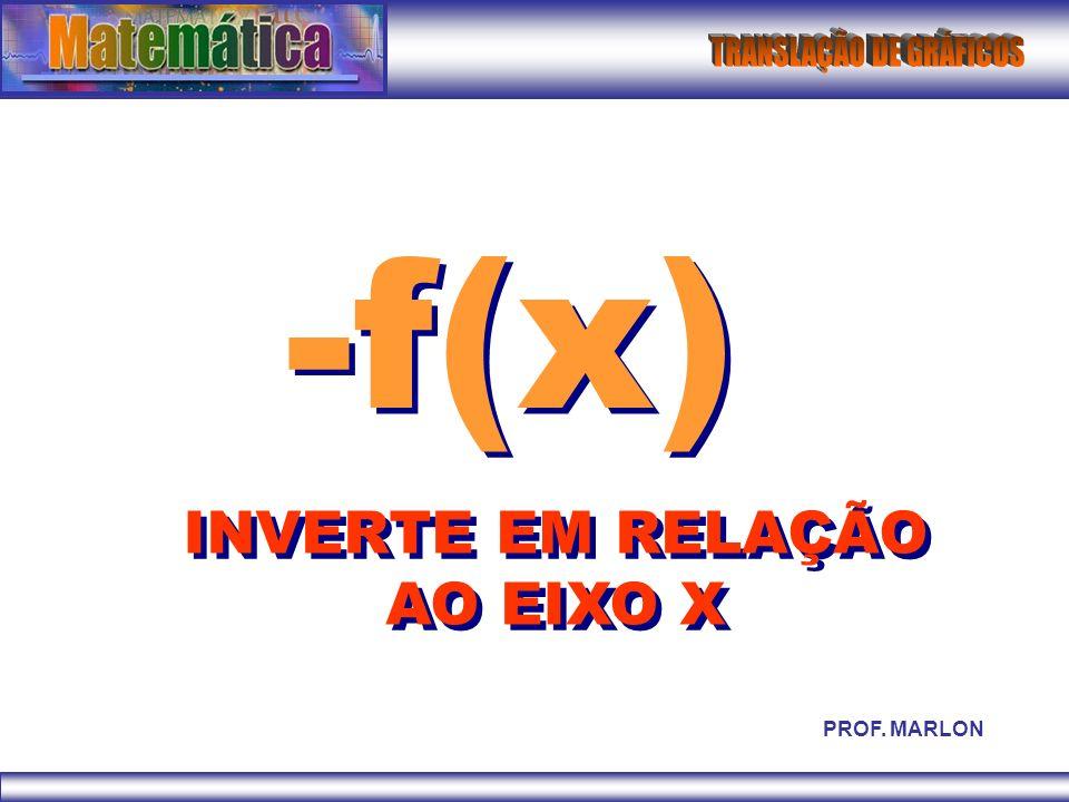 INVERTE EM RELAÇÃO AO EIXO X