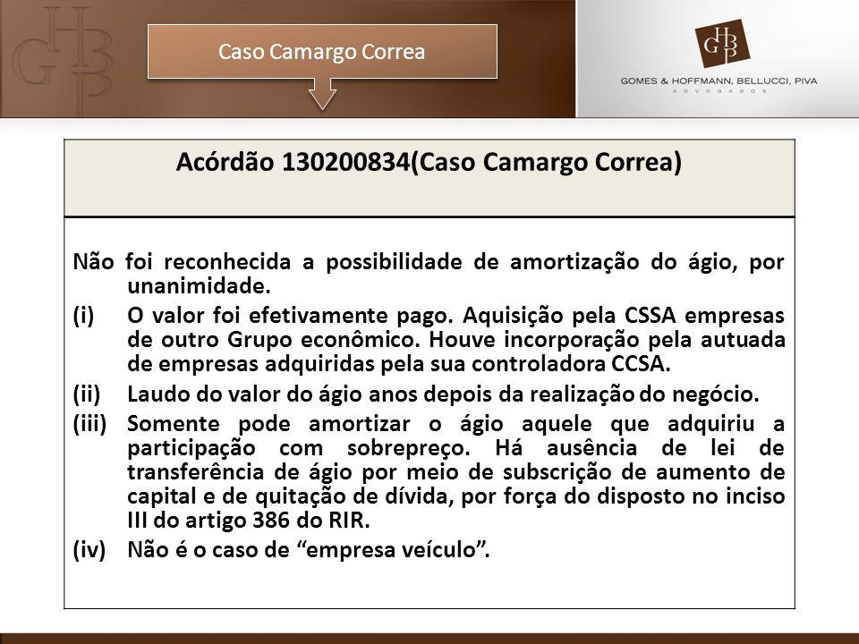 Acórdão 130200834(Caso Camargo Correa)