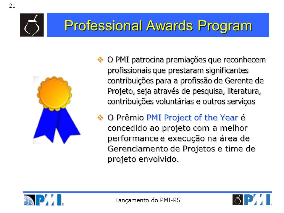 Professional Awards Program