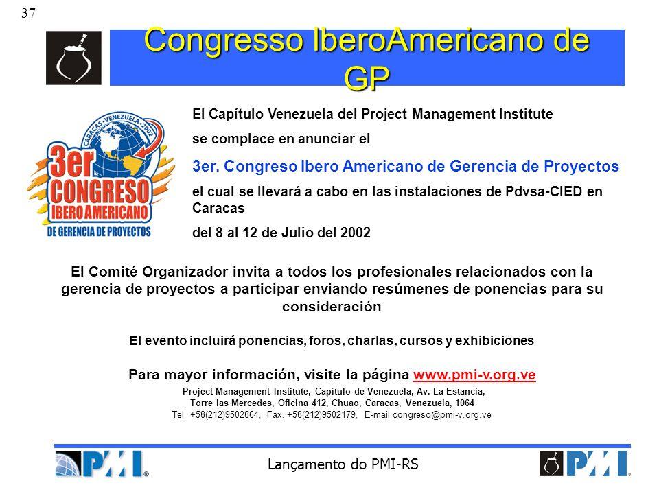 Congresso IberoAmericano de GP