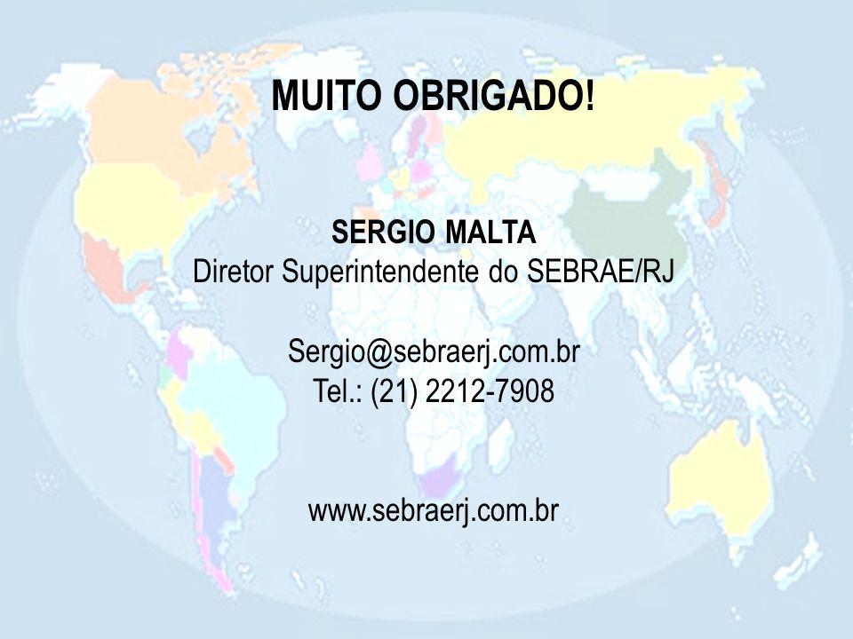 Diretor Superintendente do SEBRAE/RJ
