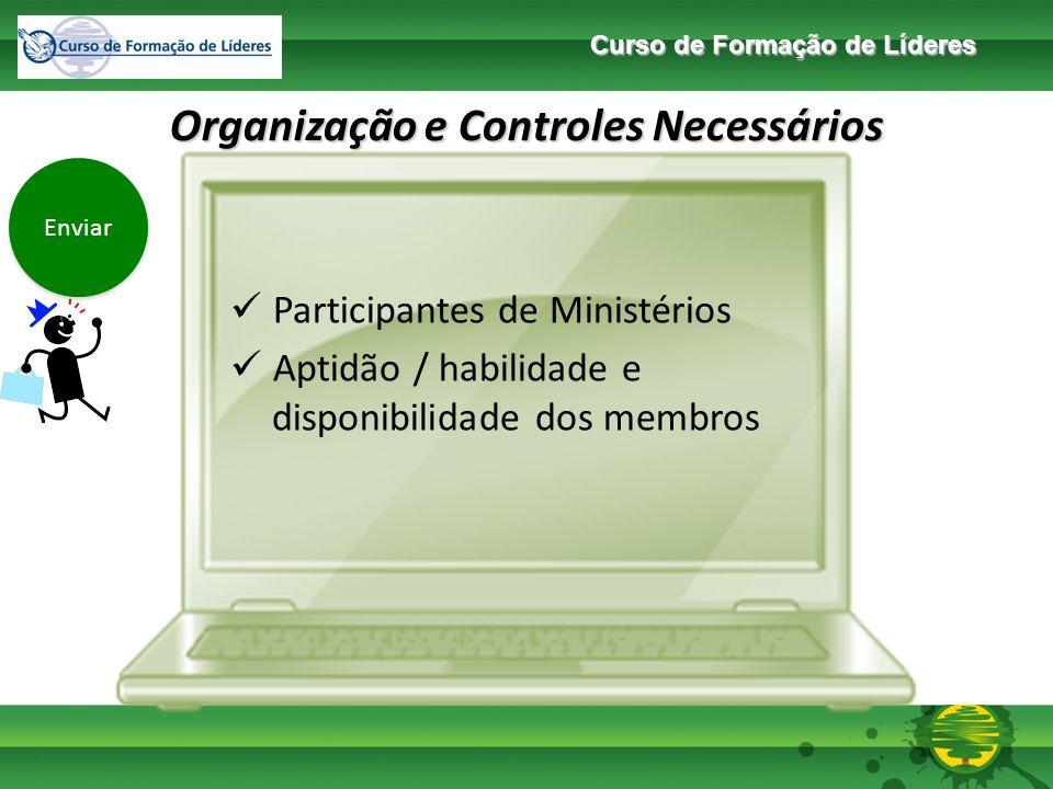 Organização e Controles Necessários